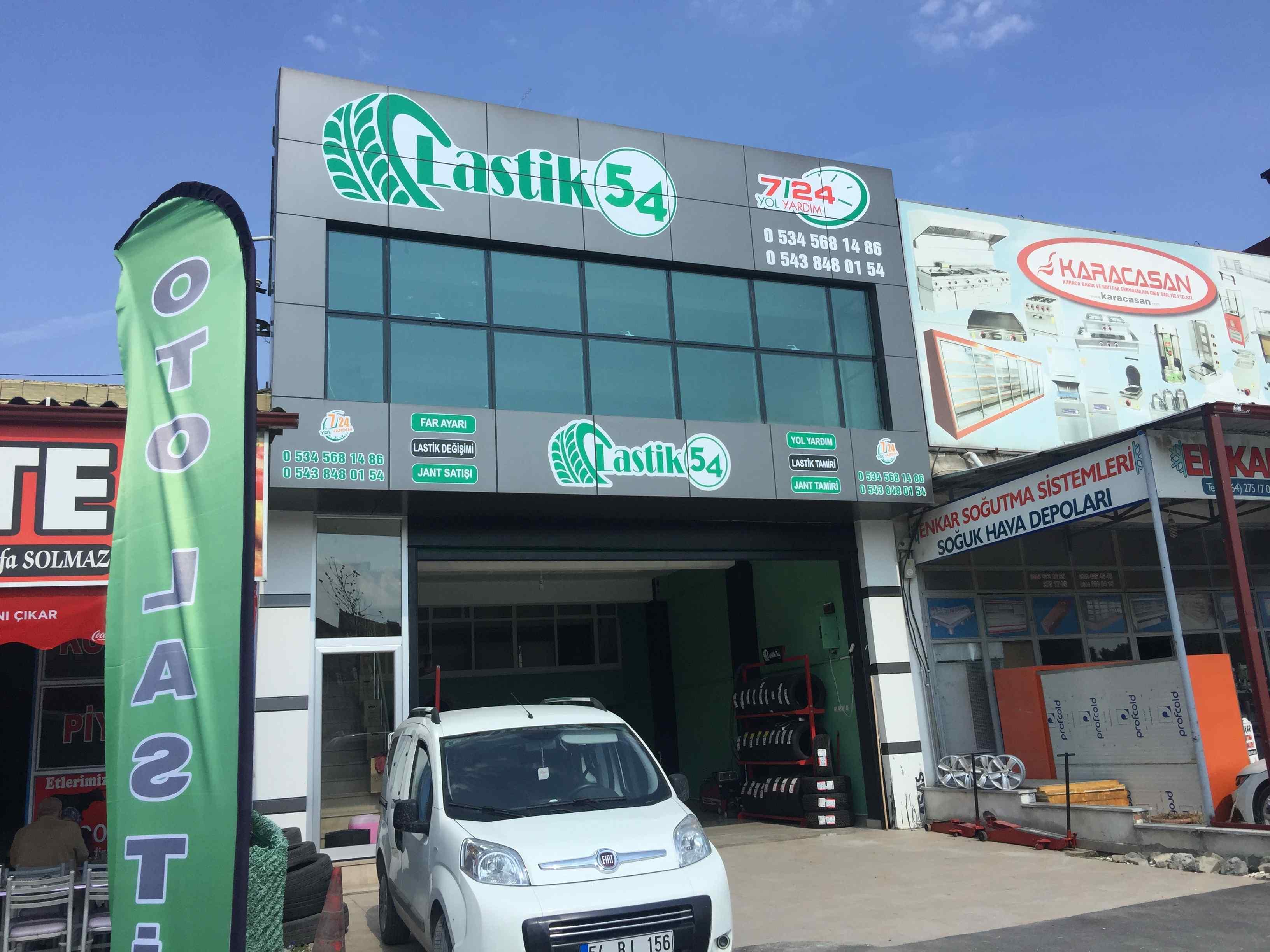 على الشارع الرئيسي في سكاريا ،ارنلر دكان جاهز للبيع مساحته ٣٩٠ متر مربع